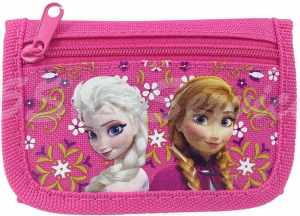 Elsa and Anna Tri Fold Kids Wallet Only $5.25 + FREE Shipping!