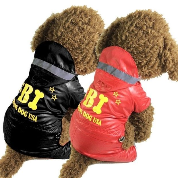 Dog Jumpsuit with FBI logo Only $9.05!  Ships FREE!
