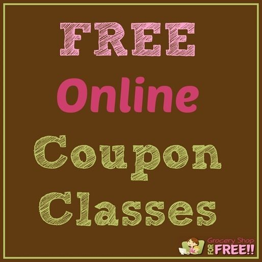 FREE Online Coupon Classes
