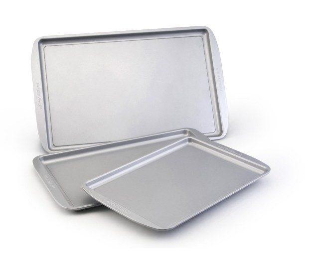 Farberware Nonstick Bakeware 3-Piece Cookie Pan Value Set Just $9.99!