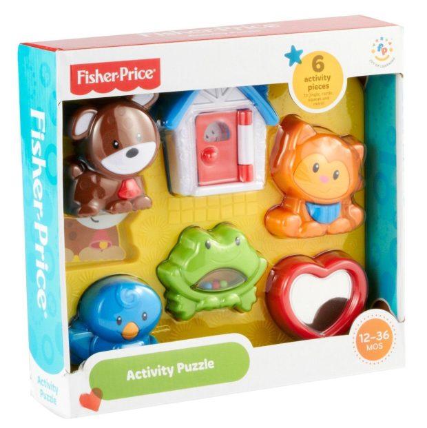 Fisher-Price Brilliant Basics Activity Puzzle Just $5! (reg. $12.99)