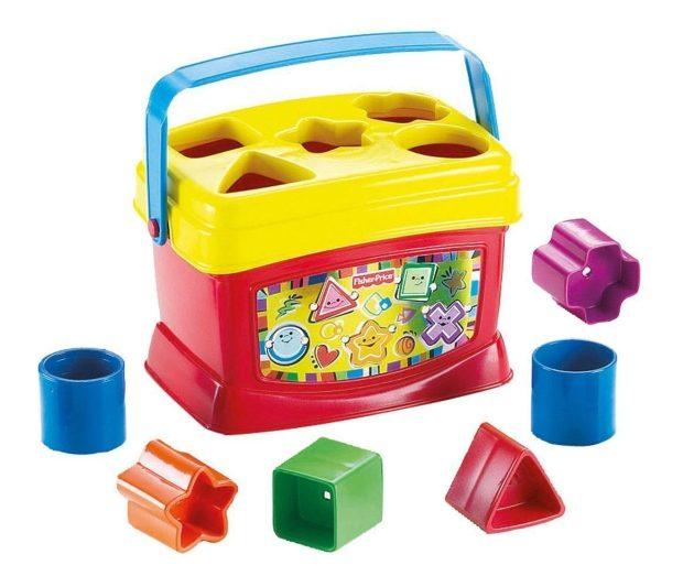 Fisher-Price Brilliant Basics Baby's First Blocks  $5.91!