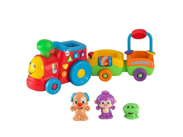 Fisher Price Laugh & Learn Puppy's Smart Train Only $22.21! Reg. $34.99!