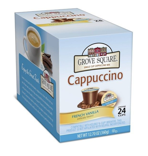 Grove Square Cappuccino, French Vanilla 24ct Cups Only $6.55!