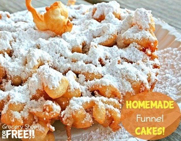 Homemade Funnel Cakes!
