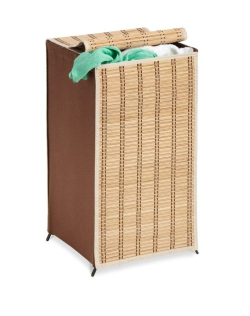 Honey-Can-Do Tall Wicker Weave Hamper Just $13.19! (reg. $48.83)