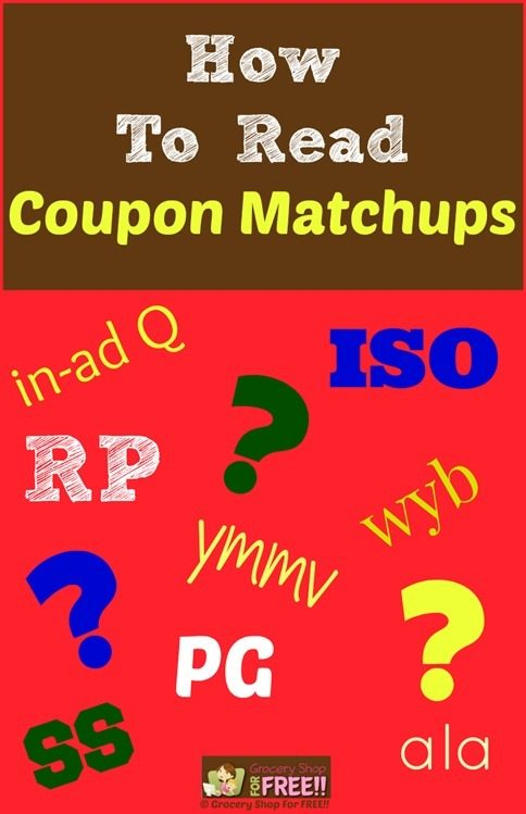 How To Read Coupon Matchups