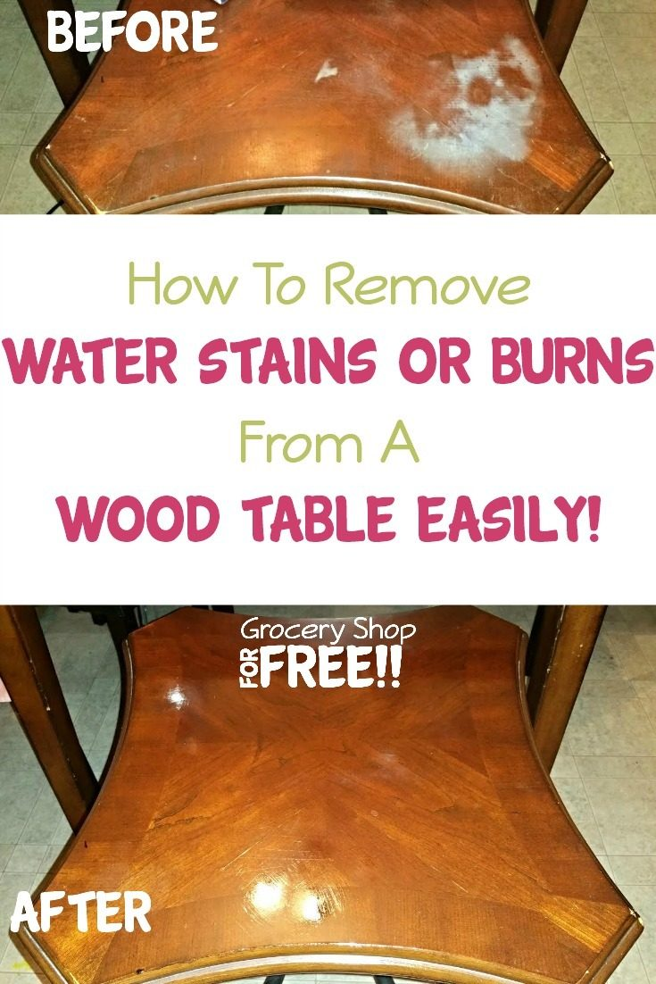 Are you looking for a quick and easy way to repair watermarks or burns on wood furniture? Well, we have the answer you're looking for!