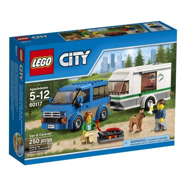 LEGO CITY Van & Caravan Just $15.99!