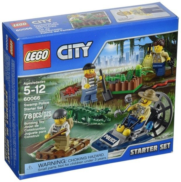 LEGO City Police Swamp Police Starter Set $7.99 + FREE Shipping with Prime!
