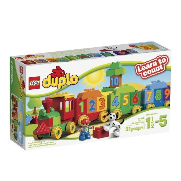 LEGO DUPLO My First Number Train Building Set Just $15.28!