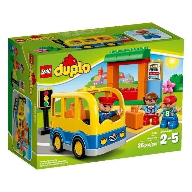 LEGO DUPLO Town School Bus Building Toy Just $9.99!
