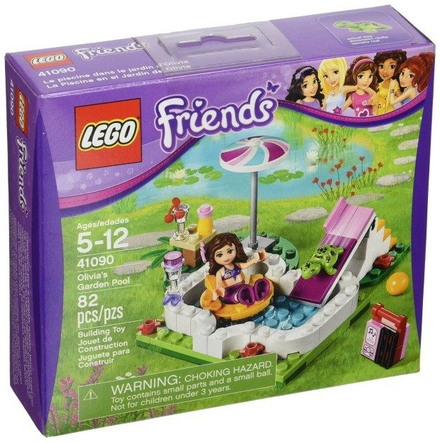 LEGO Friends Olivia's Garden Pool Just $7.99! Best Price!
