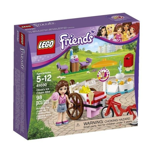LEGO Friends Olivia's Ice Cream Bike Building Set $7.99 + FREE Shipping with Prime!