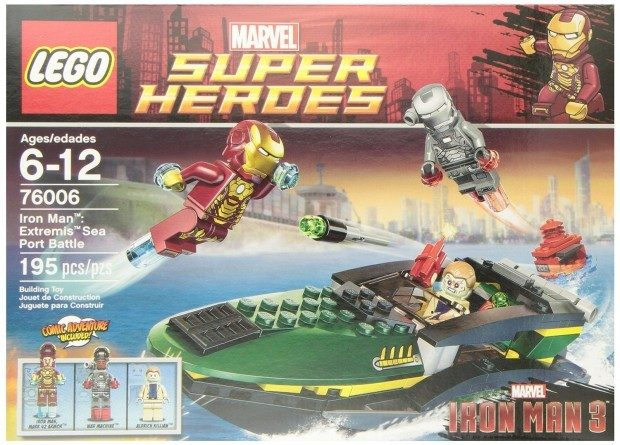 LEGO Super Heroes Iron Man Extremis Sea Port Battle $15.54 + FREE Shipping with Prime!