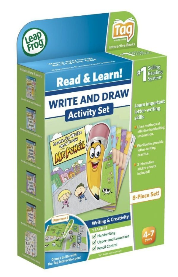 LeapFrog Tag Learn To Write And Draw