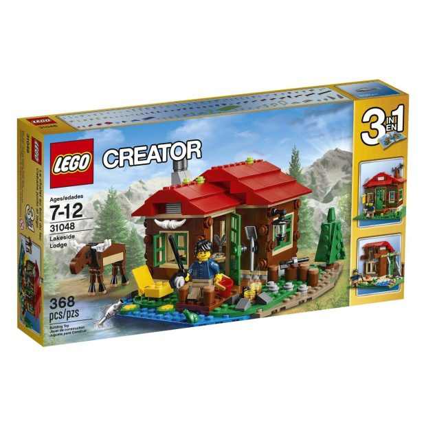 LEGO Creator Lakeside Lodge Just $23.99! (lowest price)