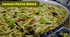 Lemon Pasta Salad!