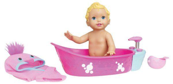Little Mommy Bubble Bathtime Doll