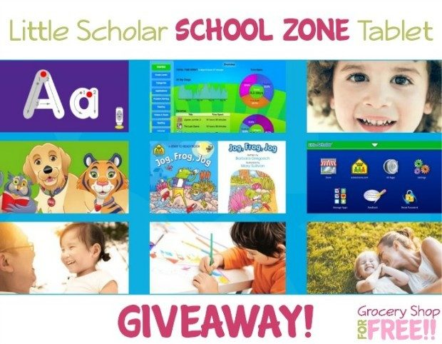 Little Scholar School Zone Tablet Giveaway!
