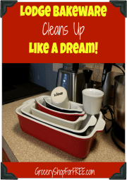 Lodge Bakeware Cleans Up Like A Dream!