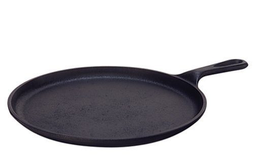 Lodge Pre-Seasoned Cast-Iron Round Griddle $14.97 + FREE Shipping with Prime!