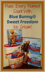 Blue Bunny Sweet Freedom No Sugar Added Ice Cream!