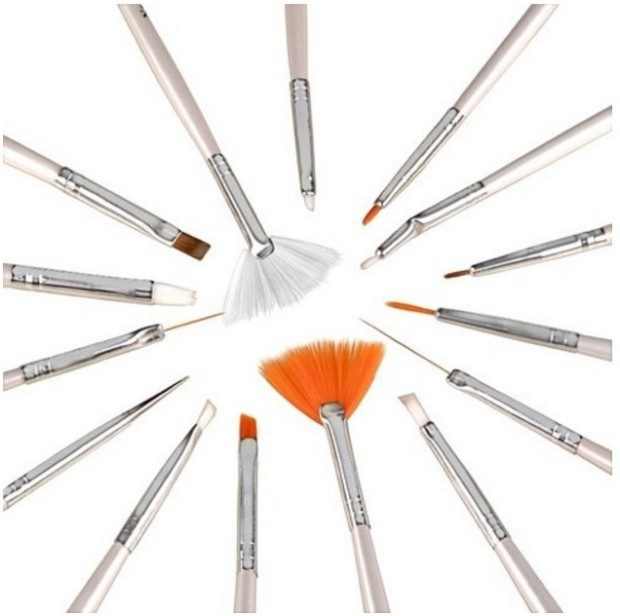 15 piece Nail Art Brush Set Just $2.50 + FREE Shipping!