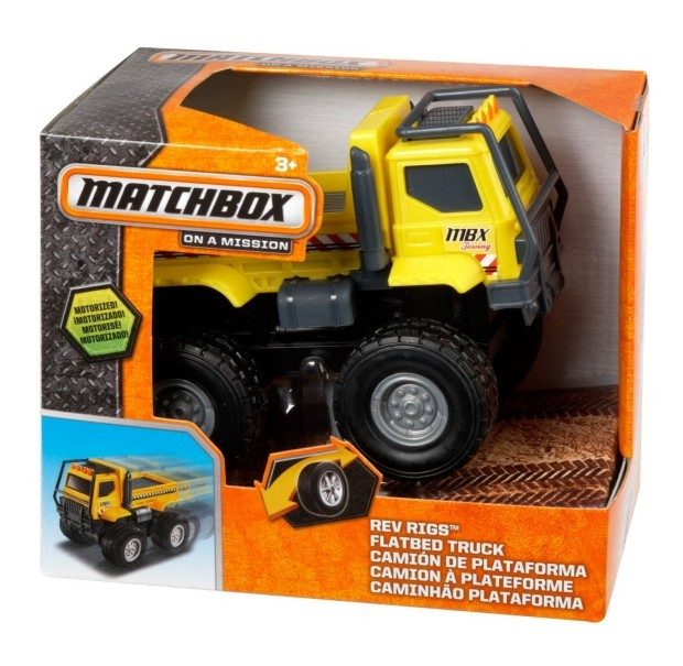 Matchbox Rev Rigs Flatbed Truck Just $3.48!