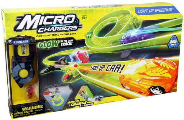 Micro Chargers Light Up Speedway