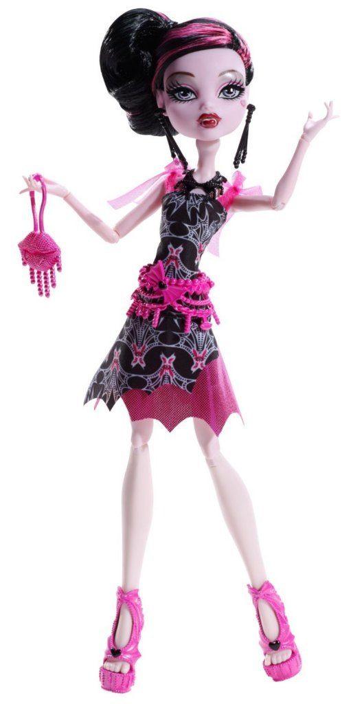 Monster High Frights, Camera, Action! Black Carpet Draculaura Doll