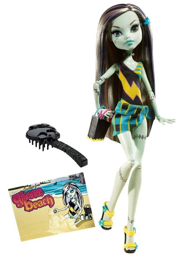 Monster High Gloom Beach Frankie Stein Doll Just $8.77! (reg. $19.99)