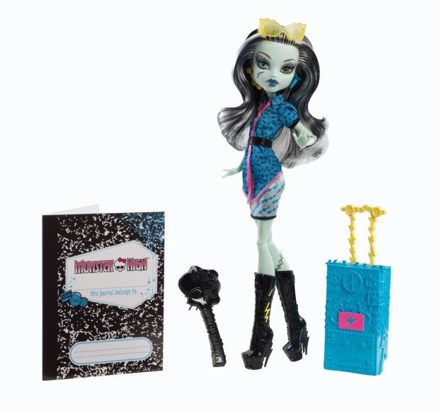 Monster High Travel Scaris Frankie Stein Doll $9.50 + FREE Shipping with Prime!