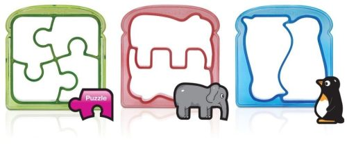 Munchkin 3 Piece Silly Sandwich Cutter Set $4.16 + FREE Shipping!