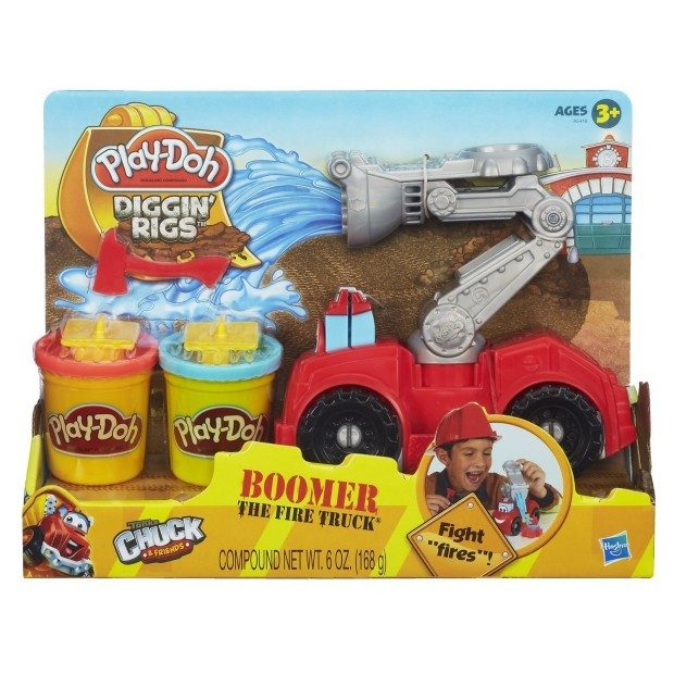 Play-Doh Diggin' Rigs Boomer the Fire Truck $7.19 + FREE Shipping with Prime!