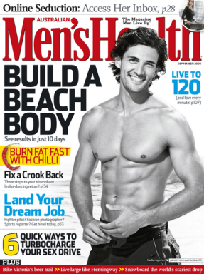 Subscribe To Men's Health Magazine For Just $6.99 A Year (Reg. $45)!