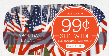 Personalized Greeting Cards Only $0.99!