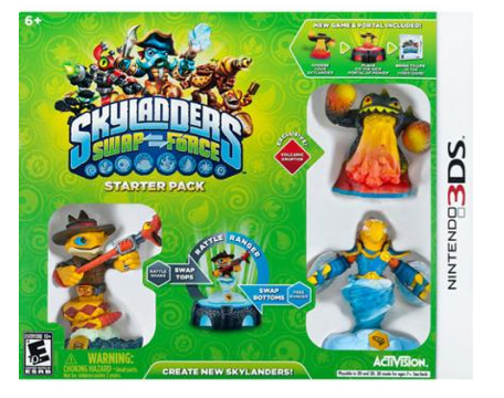 Skylanders: SWAP Force Starter Pack - Nintendo 3DS Just $19.99 (Reg. $54.99)!