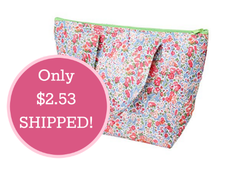 Floral Thermal Insulated Lunch Tote