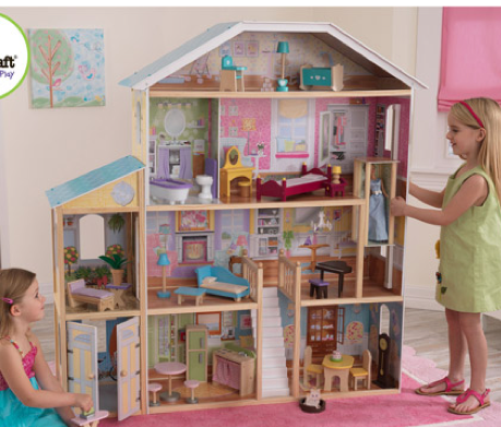 KidKraft Majestic Mansion Dollhouse with Furniture