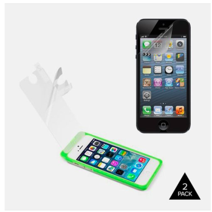 2 Pack Belkin Anti-Glare Iris Film for iPhone 5/5S Only $6.99 + FREE Shipping!