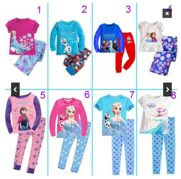 Cute Disney Frozen Pajamas Only $12.99 - 8 Styles (Reg. $26.99)!