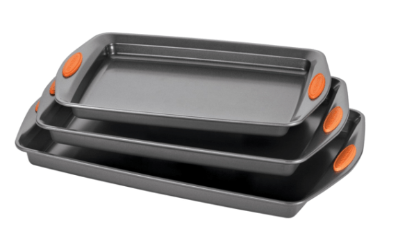 Rachael Ray Oven Lovin' Nonstick Bakeware 3-Piece Baking and Cookie Pan Set Only $29.95 (WAS $60)!
