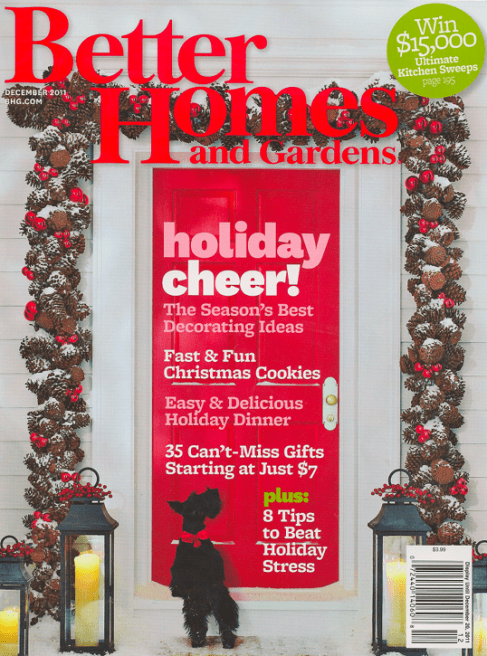 Better Homes & Gardens Magazine $4.99 a Year!