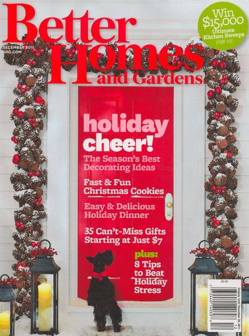 Better Homes & Gardens Magazine $4.99 a Year!