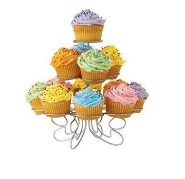 13 Cupcake Multi-Tiered Metal Dessert and Cupcake Stand $4.95 + FREE Prime Shipping (Reg. $14.95)!