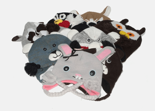Animal Knit Hats Only $7.99 + FREE Shipping (Reg. $30)!
