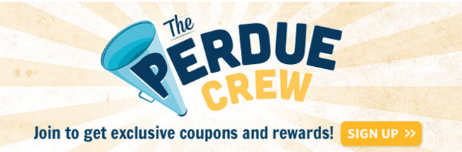 FREE Coupons And Rewards From The Perdue Crew!