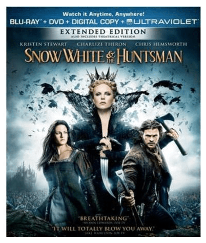 Snow White & The Huntsman Blu-ray + DVD Just $7.00! Down From $14.98!