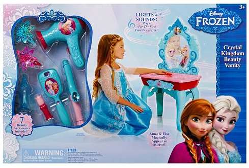 Disney's Frozen Beauty Vanity Only $27.99! Down From $79.99!